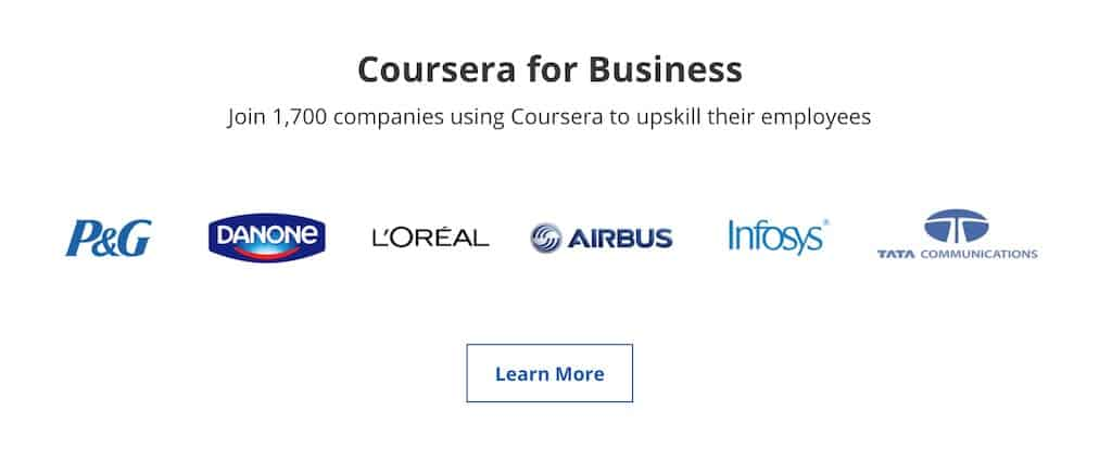 coursera for businesses