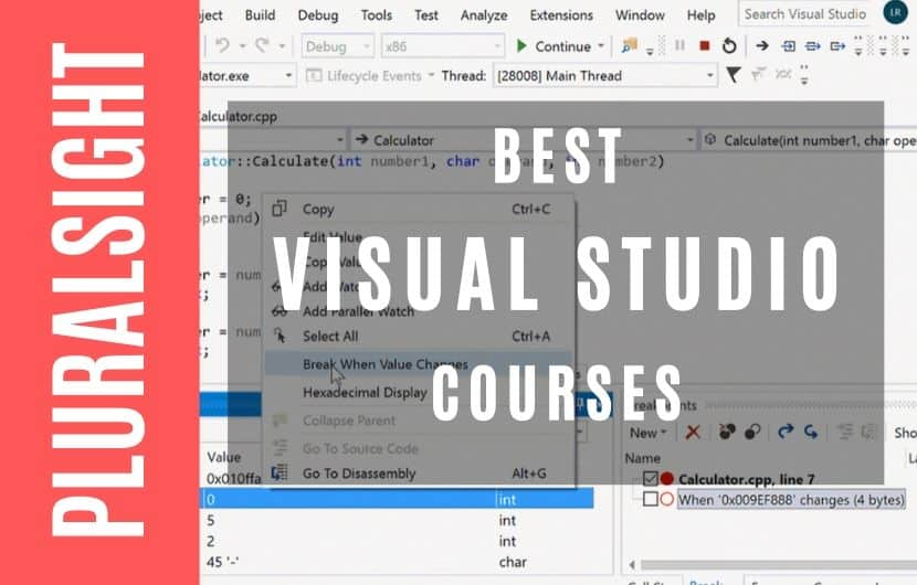 Best Visual Studio Courses On Pluralsight