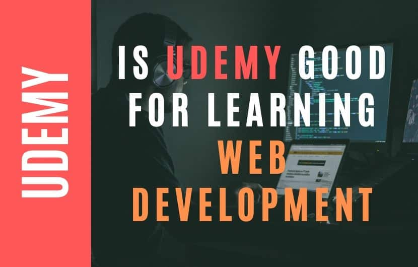 Is Udemy Good For Learning Web Development