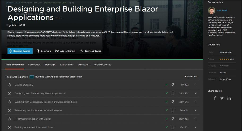 Designing and Building Enterprise Blazor Applications