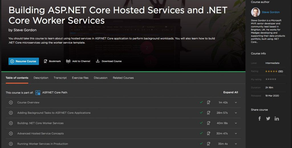 Hosted Services and .NET Core Worker Services