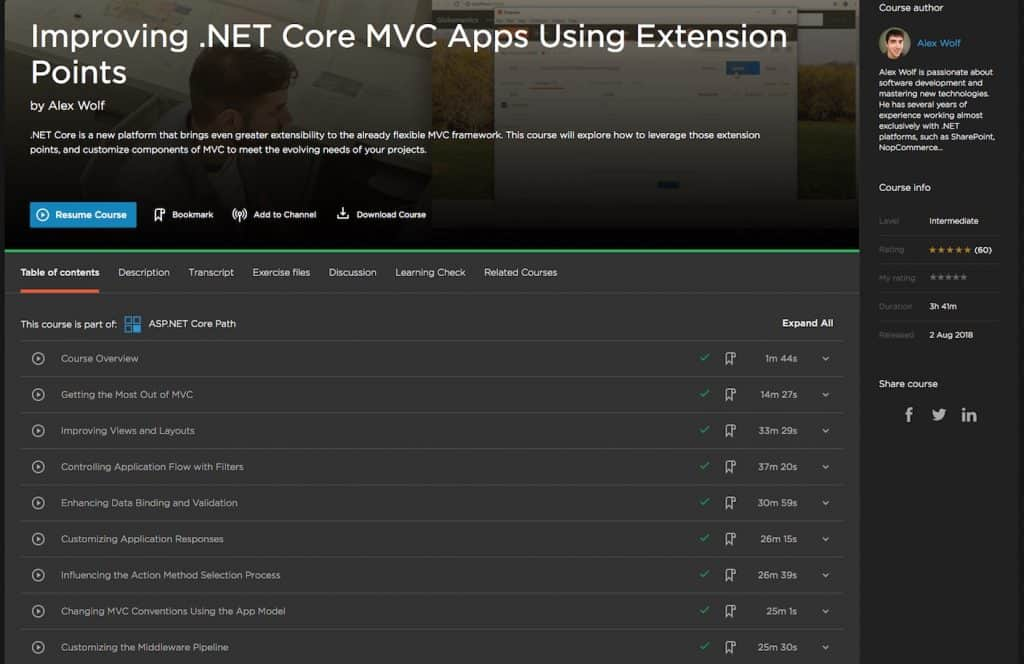 Improving .NET Core MVC Apps Using Extension Points