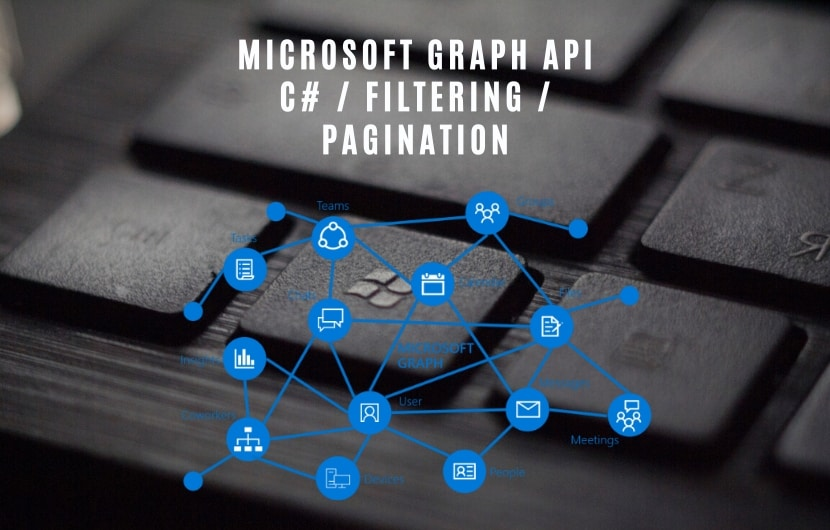 Microsoft Graph API pagination filtering