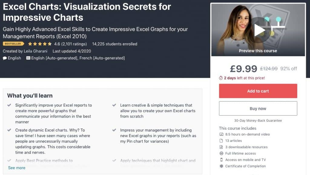 Visualization Secrets for Impressive Charts