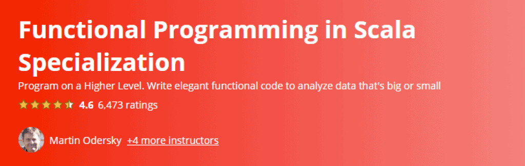 Functional Programming in Scala Specialization